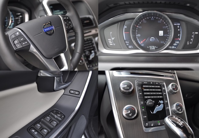 2015 Volvo XC60 T5 Drive-E Features Instrument Panel